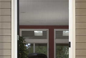 Top range of security doors from Lohrey Blinds Christchurch